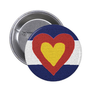 I heart Colorado Flag Products! Pin
