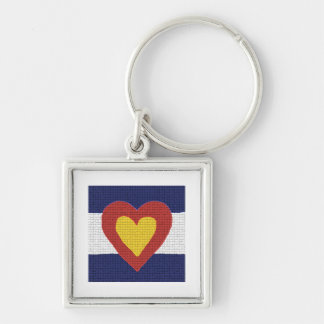 I heart Colorado Flag Products! Keychain