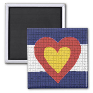 I heart Colorado Flag Products! Refrigerator Magnets