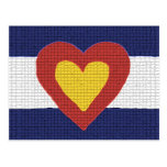 I Heart Colorado Flag Products! Post Card
