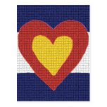 I heart Colorado Flag Products! Post Cards