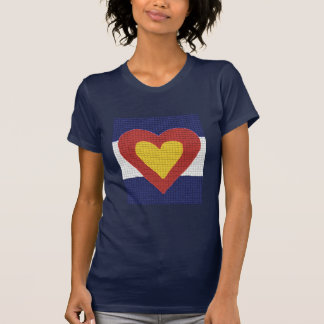 I heart Colorado Flag Products! T-Shirt