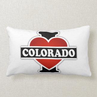 I Heart Colorado Lumbar Pillow