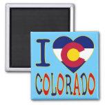 I Heart Colorado Refrigerator Magnet