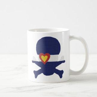 I Heart Colorado Skull! Coffee Mug