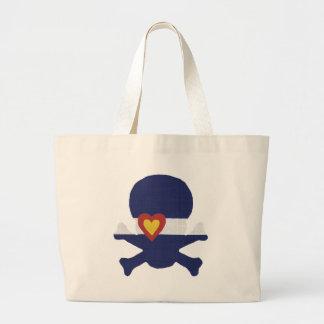 I Heart Colorado Skull! Large Tote Bag
