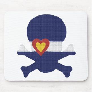 I Heart Colorado Skull! Mouse Pad