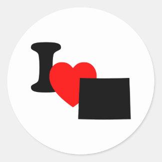 I Heart Colorado Sticker