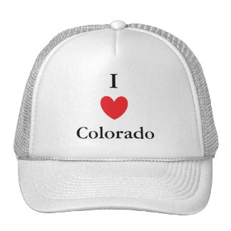 I Heart Colorado Trucker Hat