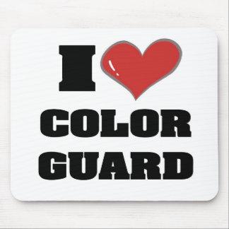 I heart colorguard mousepad