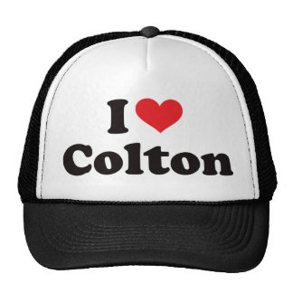 I Heart Colton Trucker Hat