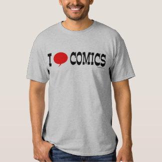 I Heart Comics Tshirt