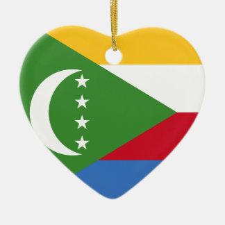I Heart Comoros Ornament