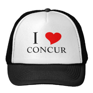 I Heart CONCUR Trucker Hat