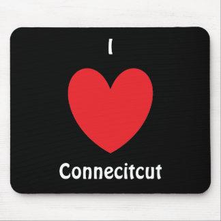 I Heart Connecitcut Mousepad