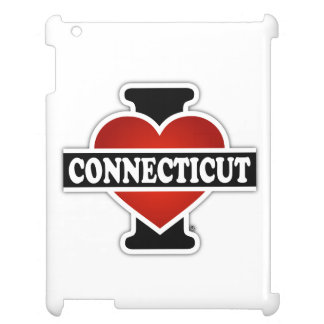 I Heart Connecticut iPad Case