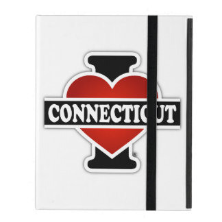I Heart Connecticut iPad Folio Cases