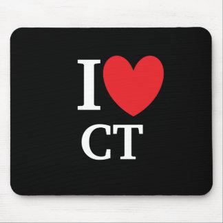 I Heart Connecticut Mousepad