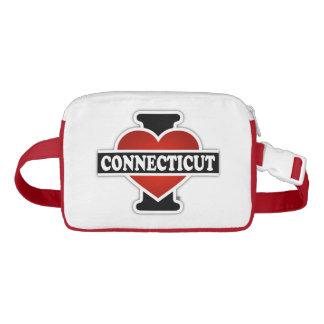 I Heart Connecticut Nylon Fanny Pack