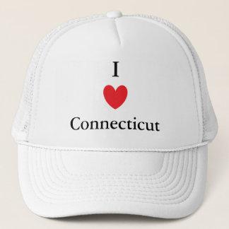 I Heart Connecticut Trucker Hat