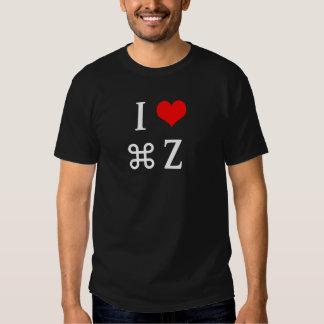 I Heart Control Z Tee Shirt