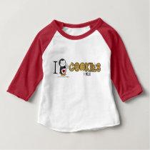I Heart Cookies & Milk! Baby T-Shirt