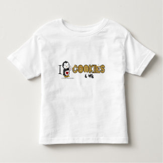 I Heart Cookies & Milk! Toddler T-shirt