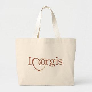 I Heart Corgis Bags