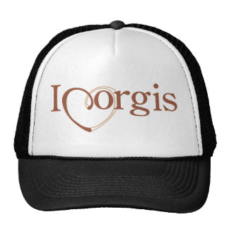 I Heart Corgis Trucker Hat