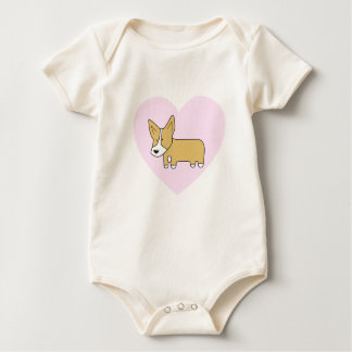 I Heart Corgis- Infant Clothing Baby Bodysuit