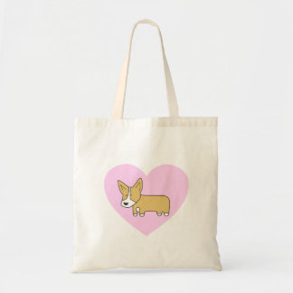 I Heart Corgis Tote Bag
