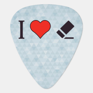 I Heart Correcting Mistakes Guitar Pick