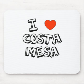 I Heart Costa Mesa Mouse Pad