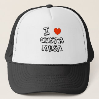 I Heart Costa Mesa Trucker Hat