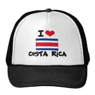 I HEART costa rica Mesh Hats