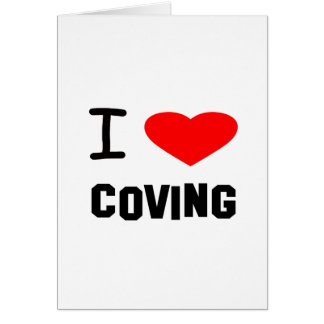 I Heart coving Cards