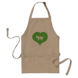 I Heart Cows Apron