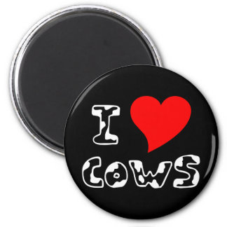 I Heart Cows Magnet