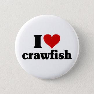 I Heart Crawfish Button