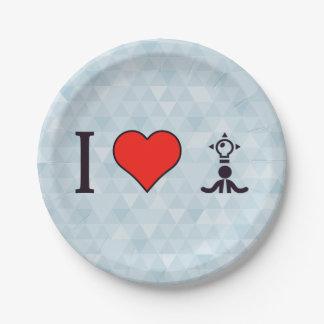 I Heart Creative Individuals Paper Plate