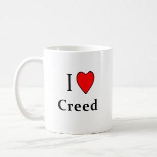 I Heart Creed Mug