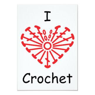 I Heart Crochet -Heart Crochet Chart Pattern Card