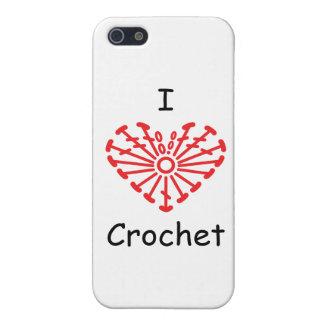 I Heart Crochet -Heart Crochet Chart Pattern Case For iPhone SE/5/5s