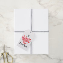 I Heart Crochet -Heart Crochet Chart Pattern Gift Tags
