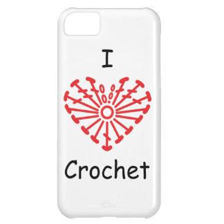 I Heart Crochet -Heart Crochet Chart Pattern iPhone 5C Cover