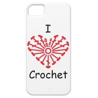 I Heart Crochet -Heart Crochet Chart Pattern iPhone SE/5/5s Case