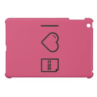 I Heart Css Papers iPad Mini Cover