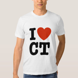 I Heart CT Tee Shirt