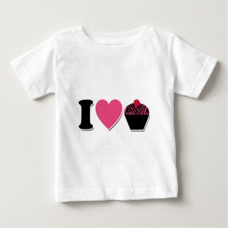 I Heart Cupcakes Infant T-shirt