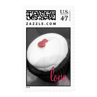 I Heart Cupcakes * Love Postage